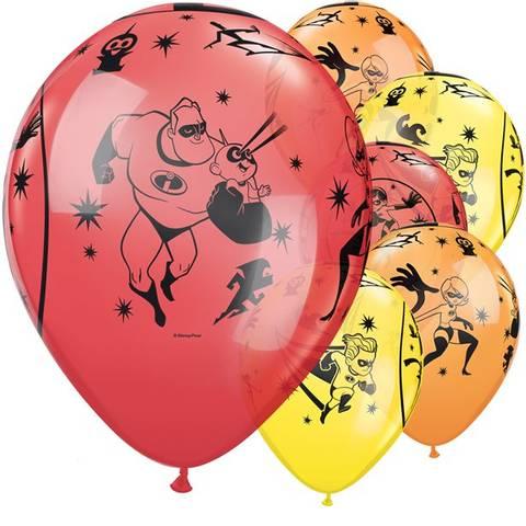 Bilde av The Incredibles 2 Ballonger 30cm Latex 6stk