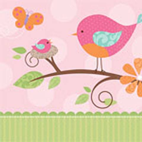Bilde av Tweet Baby Girl Lunsj Servietter 16stk