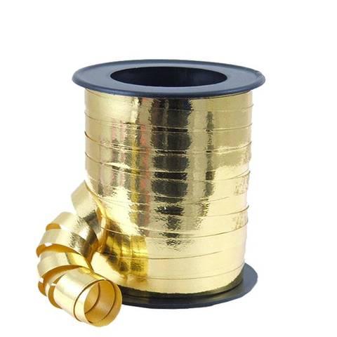 Bilde av Ballong Bånd Gull Metallisk 46m
