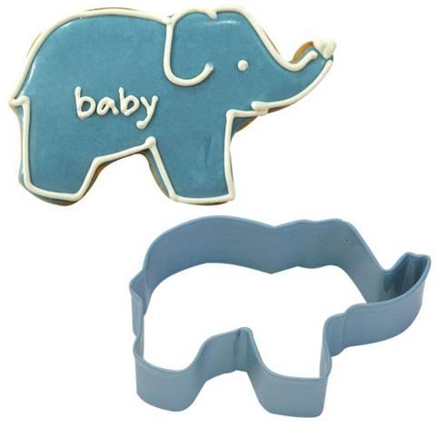 Bilde av Kakeform Blå Elefant 8.9cm